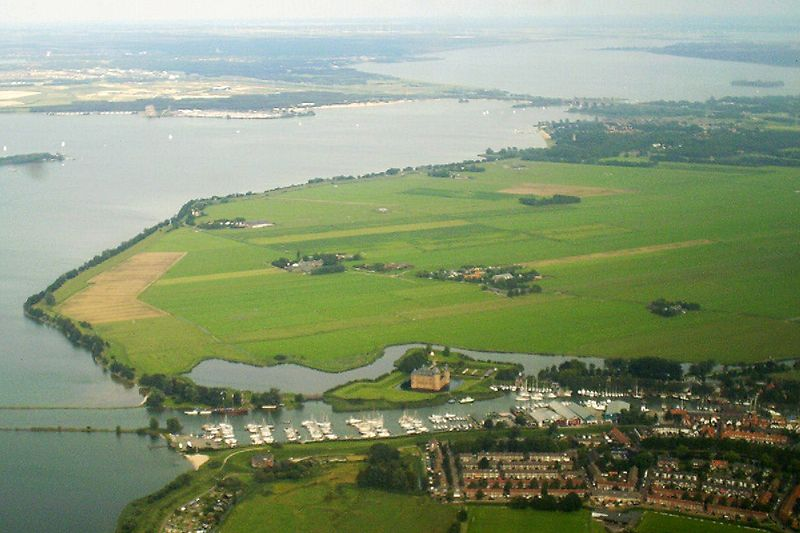 Muiden air photo